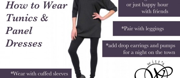 how to wear tunics and panel dresses College Station Bryan Shopping